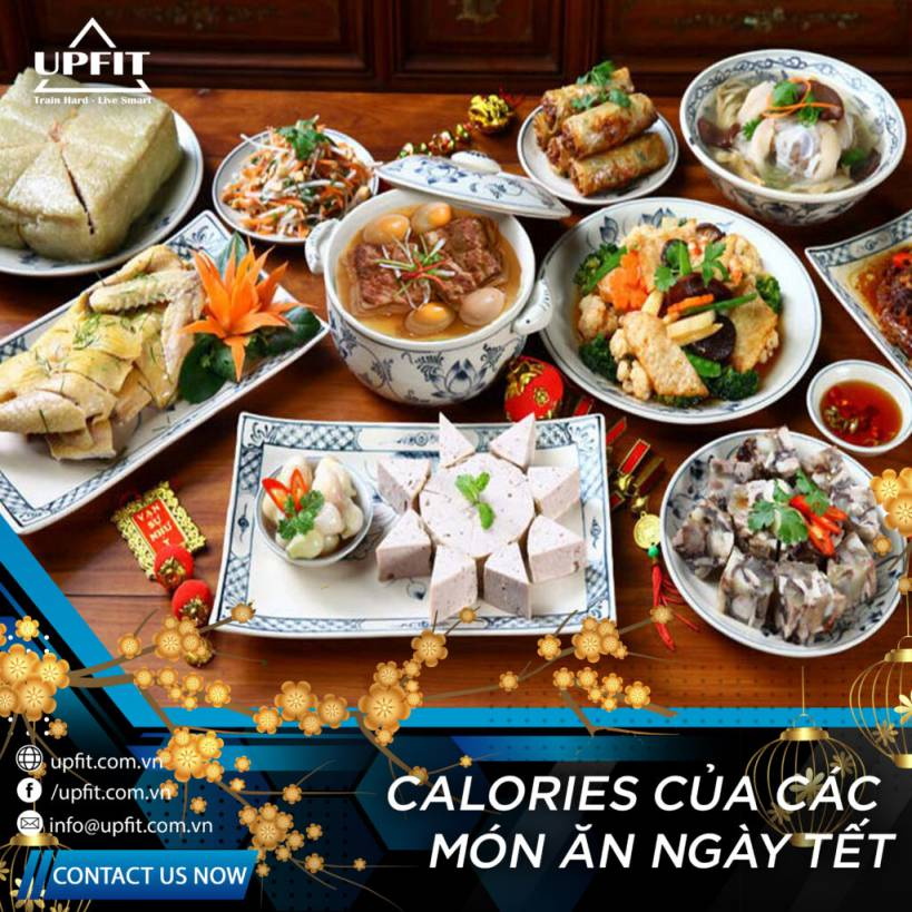 calories in tet holiday food