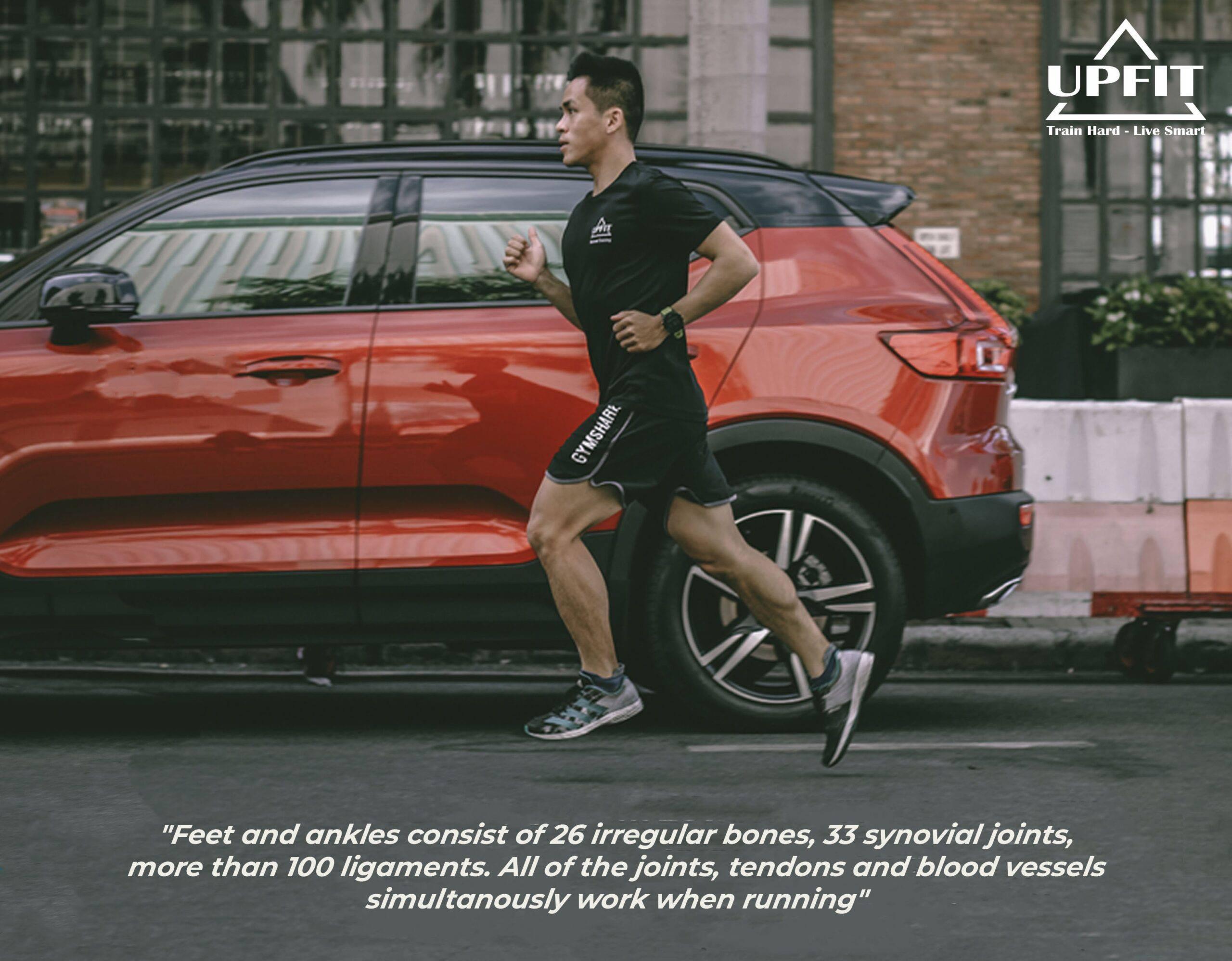 Biomechanics of running