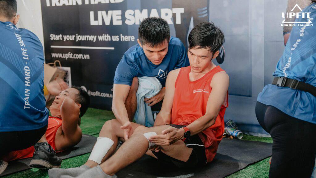 Techcom Bank Marathon UPFIT giãn cơ