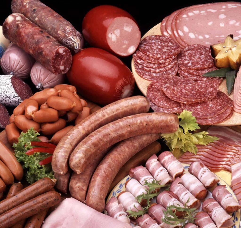 thịt đã chế biến